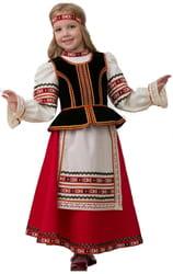 Фото Костюм Славянский с повязкой на голову детский