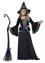 Фото Костюм обаятельная Ведьма детский