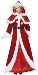 Фото Костюм Миссис Санта Клауса в платье взрослый