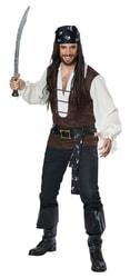 Фото Костюм смелый Пират deluxe взрослый