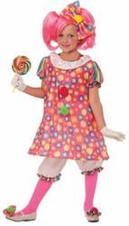 Фото Костюм сладкая Клоунесса детский