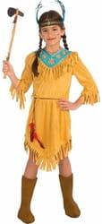 Фото Костюм Индианка в платье детский