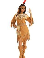 Фото Костюм Индейская девушка в платье взрослый