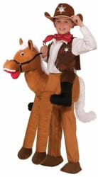 Фото Костюм Ковбой на лошади детский