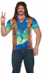Фото Рубашка Хиппи в стиле 60-х взрослая