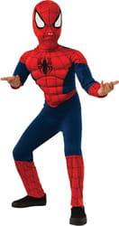 Фото Костюм Человек-паук с мускулами deluxe детский