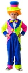 Фото Костюм Клоун в шляпе детский