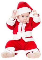 Фото Костюм Санта Клаус (красный) детский