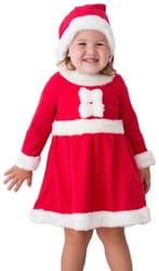Фото Костюм Внучка Санта Клауса детский