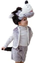Фото Костюм Волк с хвостом детский