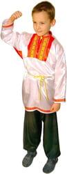 Фото Косоворотка детская (белая)