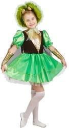 Фото Костюм Муха-цокотуха в зеленом платье детский
