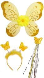 Фото Набор Бабочка (желтый)