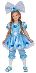 Фото Костюм кукла Тутси (голубой) детский