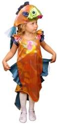 Фото Костюм Рыбка в платье детский