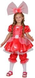 Фото Костюм кукла Тутси (розовый) детский