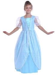 Фото Костюм Принцесса ренессанса (голубой) детский