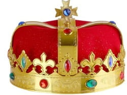 Фото Корона Король deluxe (красная)