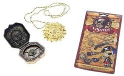 Фото Компас и медальон пирата