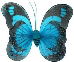 Фото Крылья Бабочка (голубой)