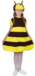 Фото Костюм Пчела с крыльями детский