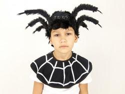 Фото Шапка мохнатый паук детская