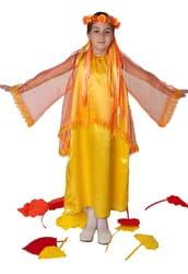 Фото Костюм Золотая Осень в платье детский