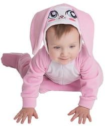 Фото Костюм Зайка в розовом для малышей детский