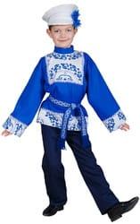 Фото Костюм русский народный Гжель для мальчика детский